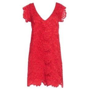 BB DAKOTA red lace dress 👗